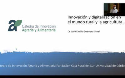 Presentación: Innovación y digitalización en el mundo rural y la agricultura – 19/11/20