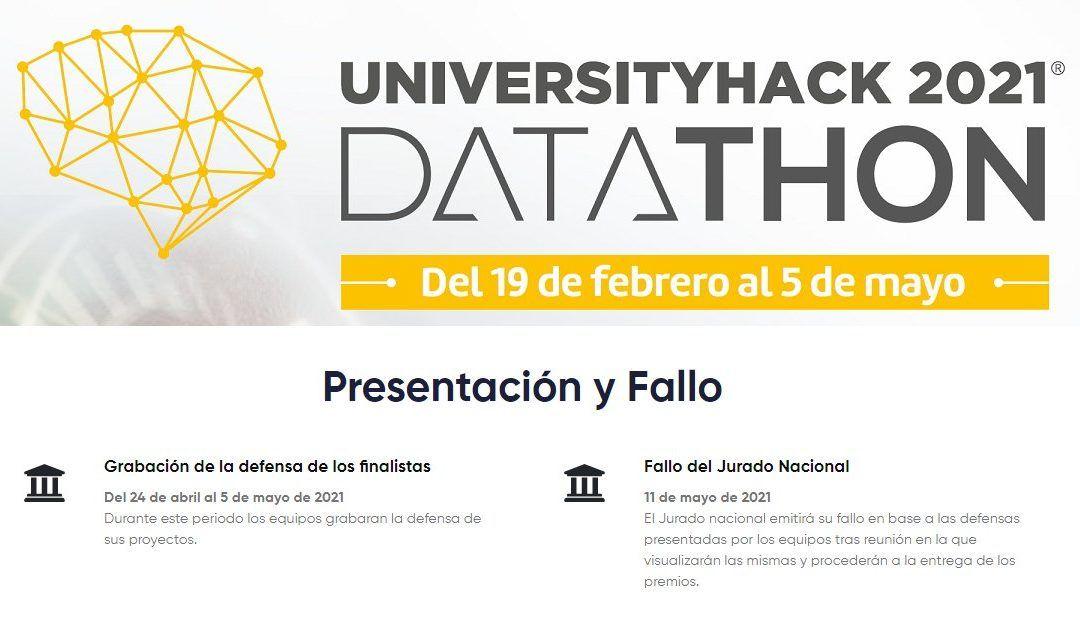 Datathon: Concurso analítica de datos – 23/04/21
